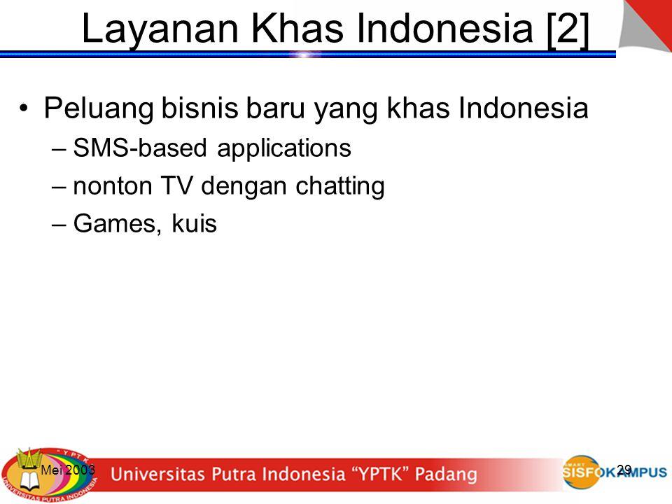Layanan Khas Indonesia [2]